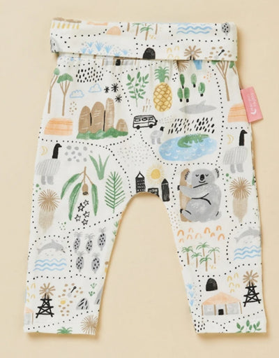 Halcyon Nights - Big Adventures Yoga Legging, baby, Halcyon Nights - Say It Sister