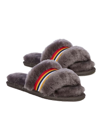 Wrenlette Slippers Charcoal, Shoes, Emu - Say It Sister