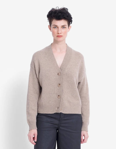 Elk - Aden Cardigan Oatmeal - Say It Sister