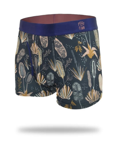 Peggy and Finn - Coastal Flora Bamboo Underwear - Say It Sister