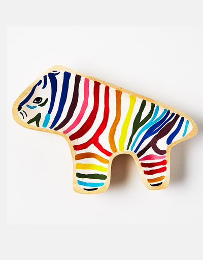 Rainbow Zebra Dish, Homewares, Jones & Co - Say It Sister