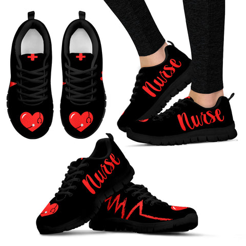 Nurse - Women's Black Sole - Women's Sneakers