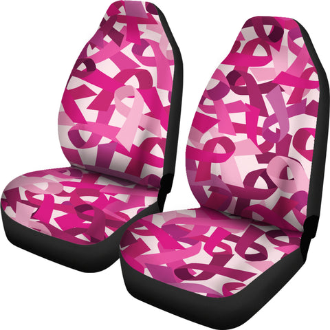 Breast Cancer Car Seat Covers