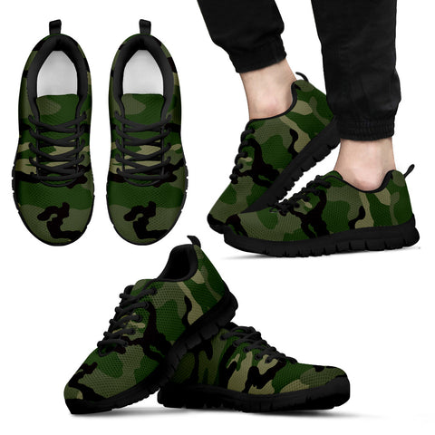 Mens Camouflage shoes