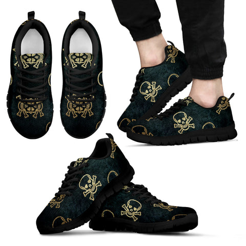 Skull and Crossbones Halloween Shoes (mens)