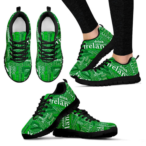IRISH BLACK Women's Sneakers