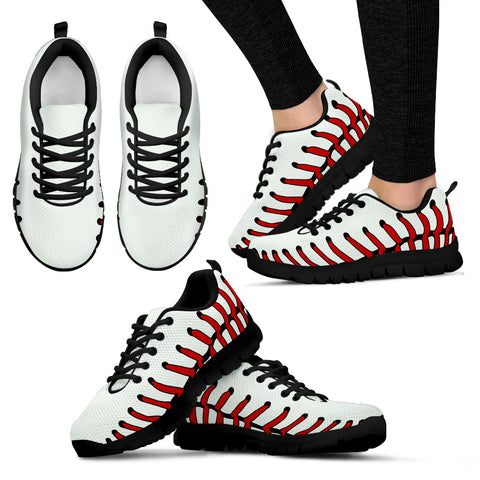 Baseball Women's Sneakers (Black)