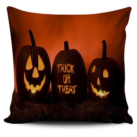 Halloween Trick or Treat Pillow Cover