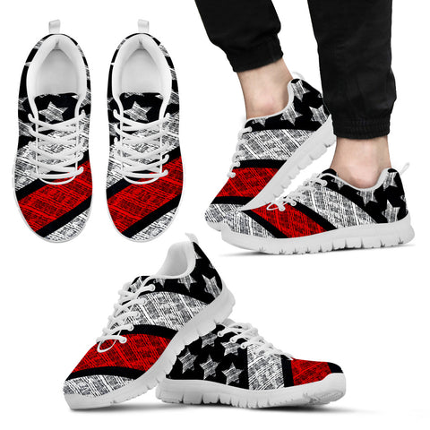 Firefighter Thin Red Line Shoes (white)