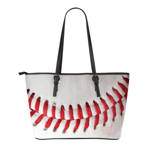 1 Custom Printed 3D Baseball Leather Tote