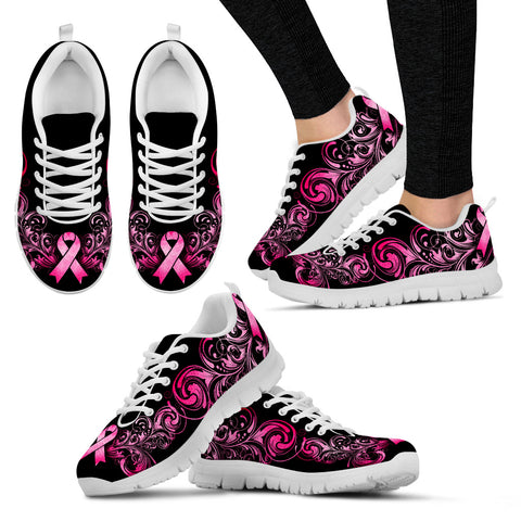 Breast Cancer Awareness Shoes (white)