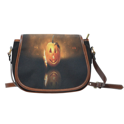 Happy Halloween Saddle Bag