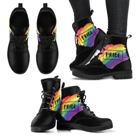 Gay Pride I - Vegan Women's Boots