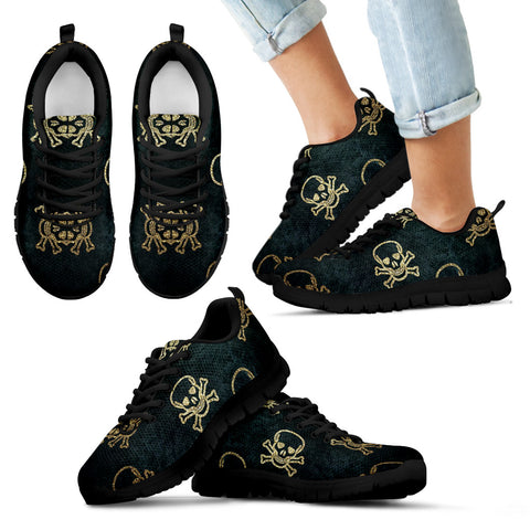 Kids Skull Halloween Shoes