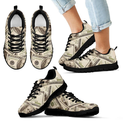 Love of Money Custom Printed Sneakers /Gym Shoes