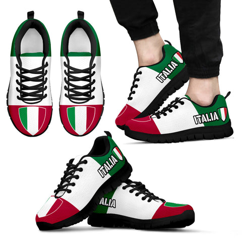 Italia Shoes Italy Flag Pride Custom Sneakers