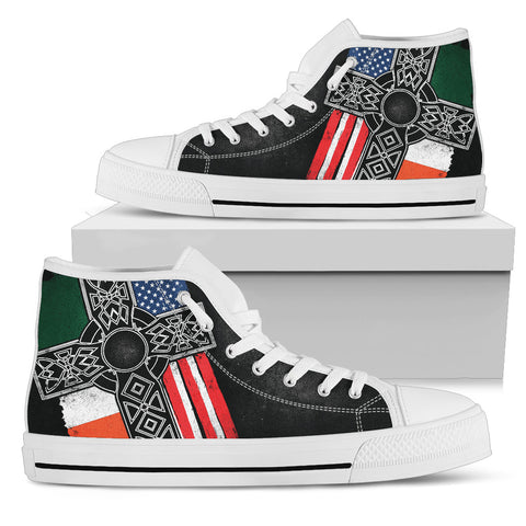 Irish American Men's High Top