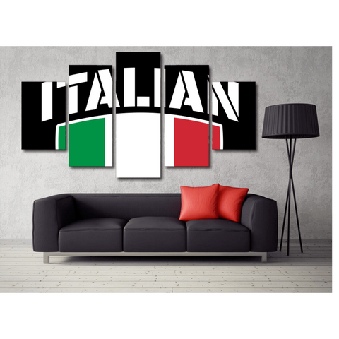 Italian Pride Wall Art