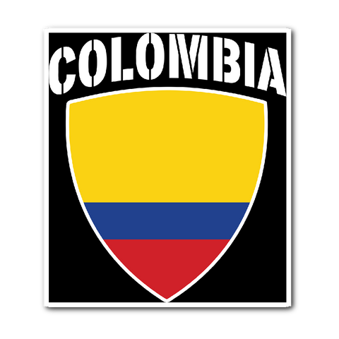 Colombia Pride Vinyl Sticker (Free Shipping)