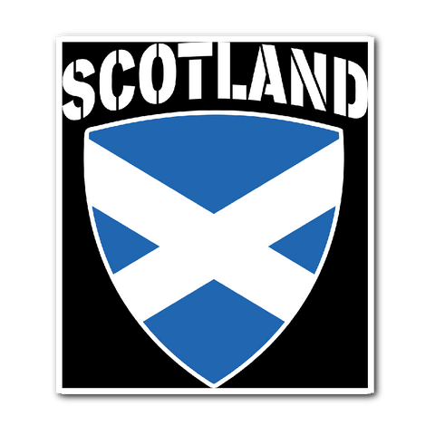 Scotland Pride Vinyl Sticker (Free Shipping)