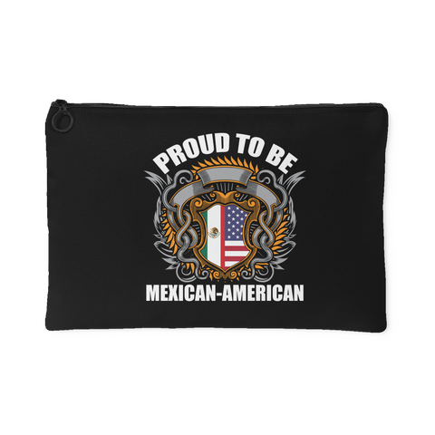Proud To Be Mexican-American Accessory Bag (Free Shipping)