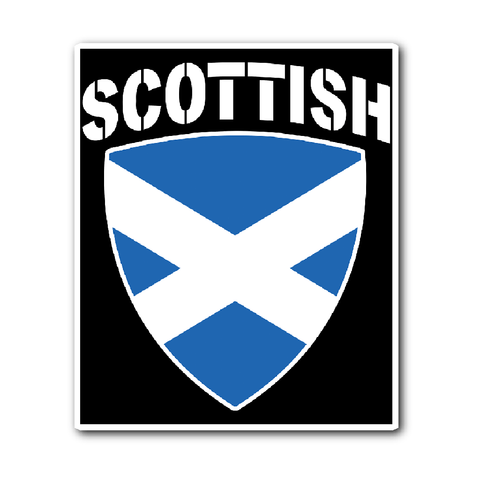 Scottish Pride Vinyl Sticker (Free Shipping)