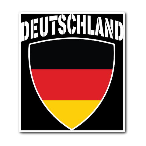 Deutschland Pride Vinyl Sticker (Free Shipping)