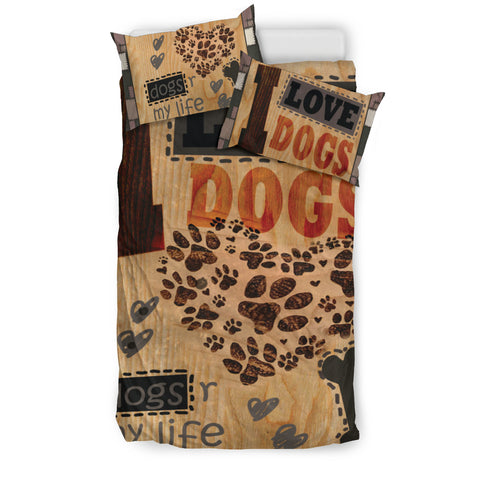 I Love Dogs Duvet - Bedding Set