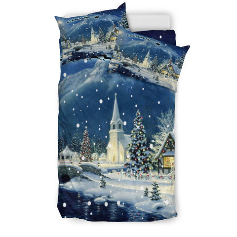 SNOW CHRISTMAS BEDDING SET