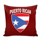 Puerto Rican Pride Pillow Cover (Free Shipping)