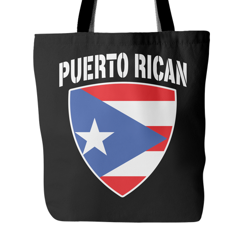 Puerto Rican Pride Tote Bag (Free Shipping)