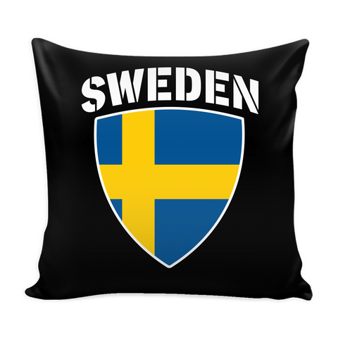 Sweden Pride Pillow Cover (Free Shipping)