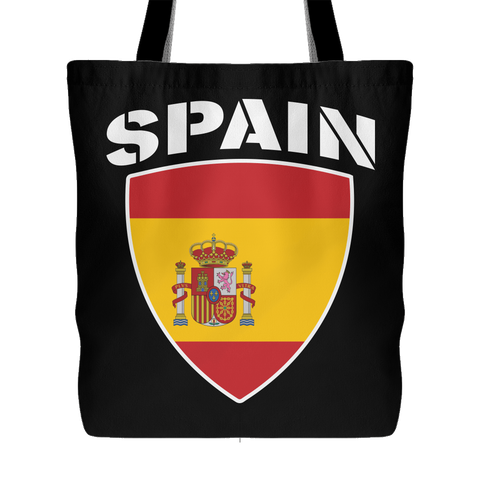 Spain Pride Tote Bag (Free Shipping) – Da Shirt Guy 642b6ea21a11c