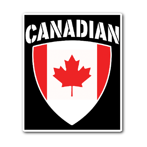 Canadian Pride Vinyl Sticker (Free Shipping)