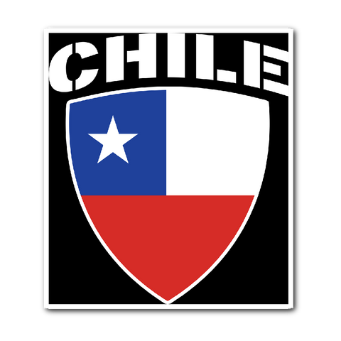 Chile Pride Vinyl Sticker (Free Shipping)