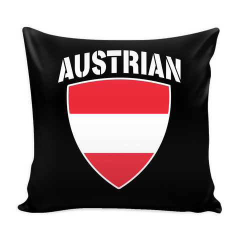 Austrian Pride Pillow Cover (Free Shipping)