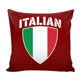 Italian Pride Pillow Cover (Free Shipping)