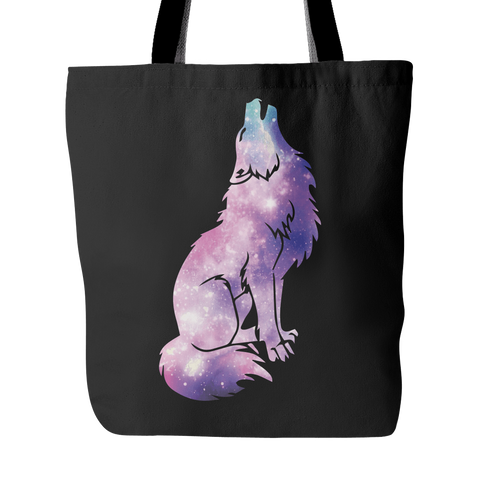 Galaxy Wolf Tote Bag (Free Shipping)