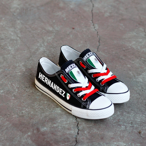 Custom Mexico Name Shoes