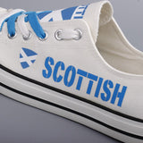 Scottish Flag Pride Shoes Low Top Canvas Custom Printed Sneakers