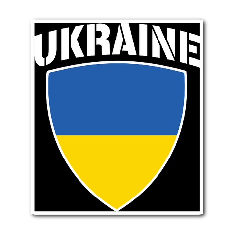 Ukraine Pride Vinyl Sticker (Free Shipping)