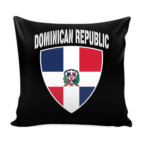 Dominican Republic Pride Pillow Cover (Free Shipping)