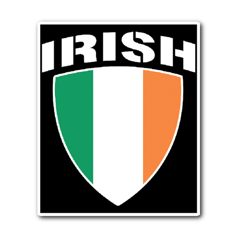 Irish Pride Vinyl Sticker (Free Shipping)