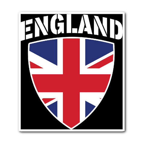 England Pride Vinyl Sticker (Free Shipping)