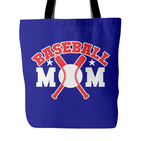 Baseball Mom Tote Bag (Free Shipping)