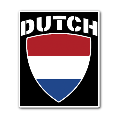 Dutch Pride Vinyl Sticker (Free Shipping)