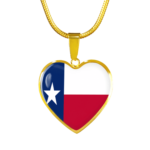 Texas Love Gold Luxury Adjustable Necklace or Bangle Bracelet