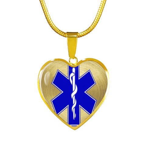EMS Love Gold Necklace or Bangle Bracelet