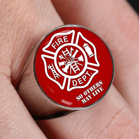 Firefighter Ring So Others May Live (free shipping)