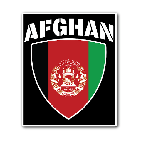 Afghan Pride (Free Shipping)